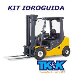 Kit con guida idrostatica DANFOSS OM 30 Q.li con divisore di portata prioritario